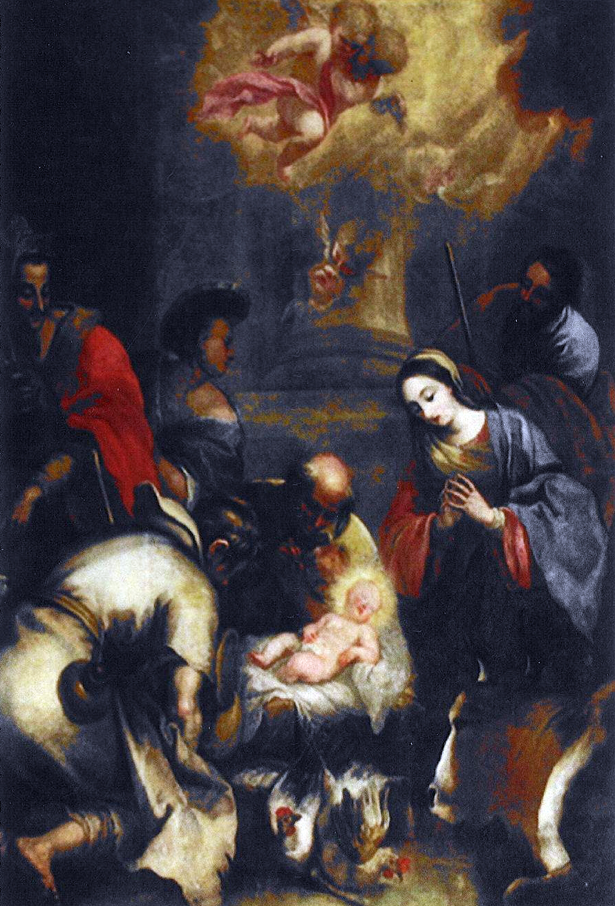 El nacimiento de Jesus - Siglo XVII