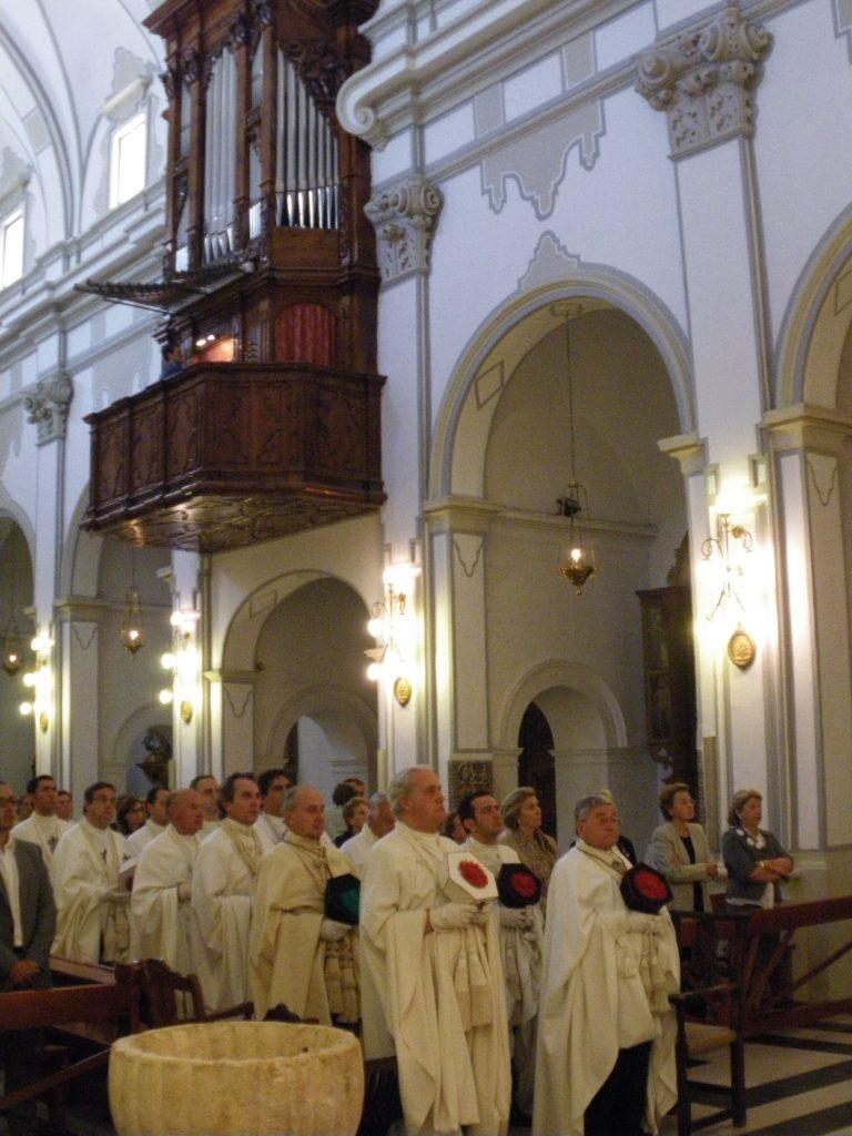 Nombramiento de Capellán de Honor de la Orden de Montesa Rvdo. D. Juan Albelda Oltra